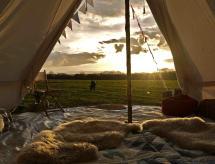 Stargazer Bell Tent - Hang Out Zone, Marske