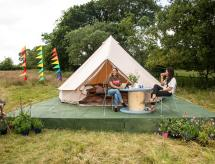 Whispers the Wind Bell Tent Hang Out Zone, Marske
