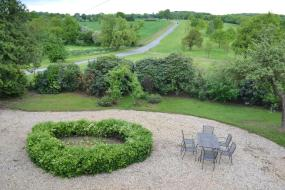 Double Room with Garden View, Crondon Park Farmhouse Bed and Breakfast