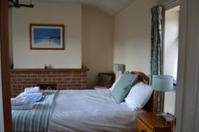 Triple Room with Garden View, Crondon Park Farmhouse Bed and Breakfast