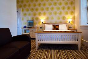Superior Double Room, Healds Hall Hotel