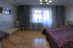Двухместный номер с 2 отдельными кроватями и ванной, Гостиница Пушкинская