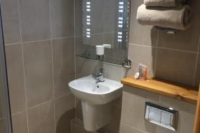 Deluxe Double Room with Shower, Old Malt Scoop Inn