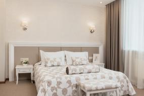 Двухместный номер Делюкс с 1 кроватью, Отель Элегант
