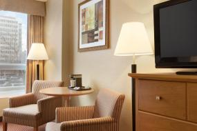 Queen Room with Two Queen Beds - Non-Smoking, Days Inn by Wyndham Edmonton Downtown