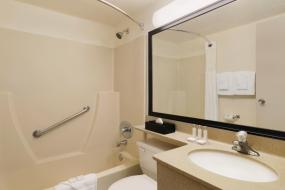 Efficiency Double with Two Double Beds - Non-Smoking, Travelodge by Wyndham Edmonton South