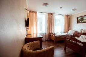 Двухместный номер с 2 отдельными кроватями, Отель Чайка