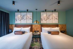 Two Queen Beds - Habitat, Naumi Auckland Airport Hotel