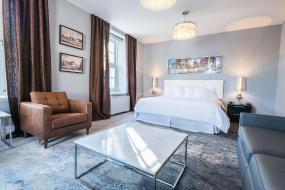 Deluxe King Suite, Hotel Manoir Morgan