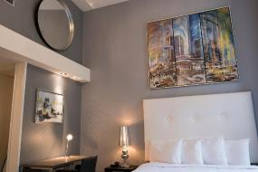 Luxury Quadruple Room, Hotel Manoir Morgan