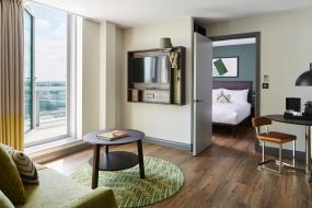 Deluxe One-Bedroom Suite with City View, Residence Inn By Marriott London Kensington