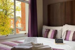 Small Double Room, The Edgbaston Palace Hotel