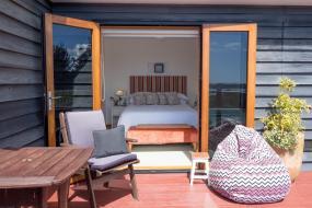 Deluxe Double Room with Sea View, Te Koha Lodge