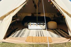 Tent, Lake Hawea Hostel