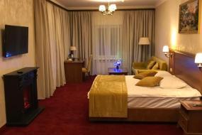 Двухместный номер Делюкс с 1 кроватью или 2 отдельными кроватями и гидромассажной ванной, Калина отель