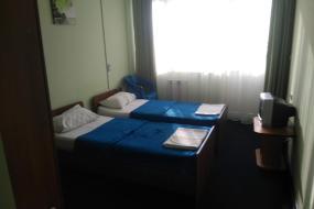 Двухместный номер с 2 отдельными кроватями и видом на море, Гостевой дом Небеса