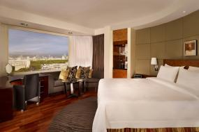 Panoramic Room, Guest room, 1 King, Skyline view, High floor, The Park Tower Knightsbridge, a Luxury Collection Hotel