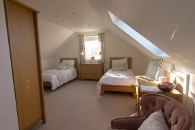 Deluxe Twin Room with Sea View, Pen Llyn Bed and Breakfast