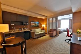 One-Bedroom King Suite, Radisson Hotel & Convention Center Edmonton
