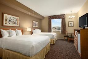 Queen Room with Two Queen Beds - Non-Smoking, Days Inn & Suites by Wyndham West Edmonton