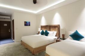 Standard Twin Room with Sea View, Cove Resort Palau