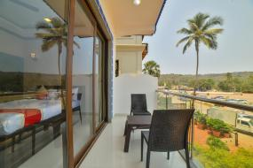 Deluxe Double Room with Balcony, Baga HighQ