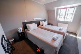 Twin Room with Private Bathroom, Base Wanaka