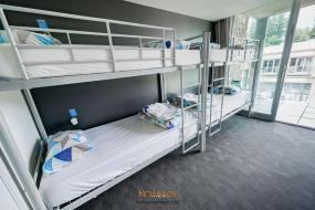 Bed in 4-Bed Mixed Dormitory Room with Bathroom, Nomads Queenstown Backpackers
