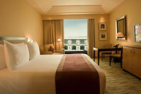 Club Double or Twin Room with complimentary airport transfers and lounge access , The Grand New Delhi