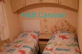 Caravan, H&B Caravan on Marine Holiday Park