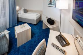 Comfort Single Room with Balcony, Hotel Seeschwalbe