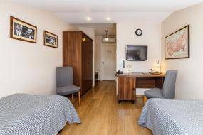 Стандартный двухместный номер с 1 кроватью или 2 отдельными кроватями – Мансарда,  Бутик-отель