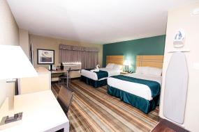 Queen Room with Two Queen Beds - Non-Smoking, Ramada by Wyndham Edmonton Yellowhead NW