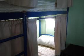 Кровать в общем 4-местном номере для мужчин и женщин, Hostel Lana