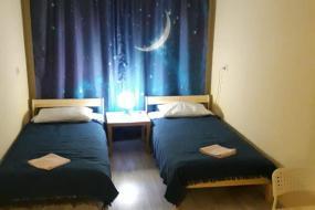 Двухместный номер с 2 отдельными кроватями и видом на город, SPACE Aparts and Rooms