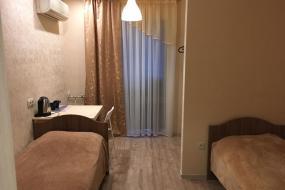 Улучшенный двухместный номер с 2 отдельными кроватями, SPACE Aparts and Rooms