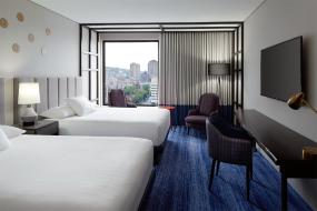 Queen Room with Two Queen Beds and City View, DoubleTree By Hilton Montreal