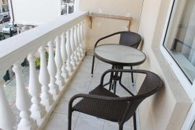 Двухместный номер с 1 кроватью или 2 отдельными кроватями и балконом, Отель Виктория