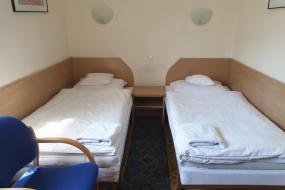 Pokój z 2 łóżkami pojedynczymi, Motel Comet
