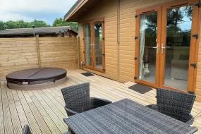 Superior Lodge - Retreat, Little Eden Country Park, Bridlington with Private Hot Tubs Available