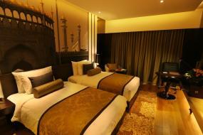 Superior Twin Room, Pride Plaza Hotel, Aerocity New Delhi