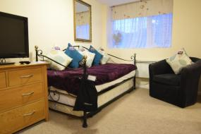 Double Room with Bathroom, Castle Lodge