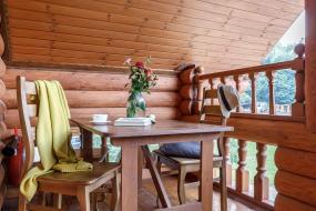 Четырехместный номер с балконом, Туристический Комплекс Белая река Даховская