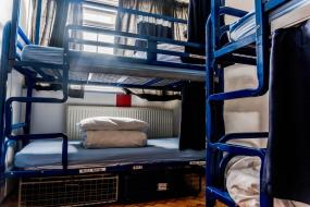 Bunk Bed in 15-Bed Mixed Dormitory Room, London Backpackers Youth Hostel