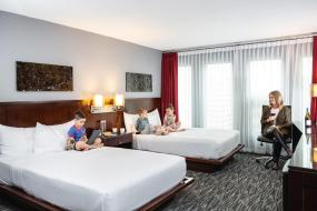 Double Room with Two Double Beds, Matrix Hotel