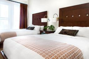 Double Room with Two Double Beds, Metterra Hotel on Whyte