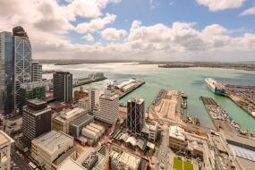 One-Bedroom Apartment with Harbour View - No Housekeeping, Auckland Harbour Suites