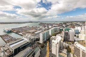 Two-Bedroom Apartment with Harbour View, Auckland Harbour Suites
