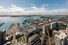 Superior Two-Bedroom Apartment with Harbour View, Auckland Harbour Suites