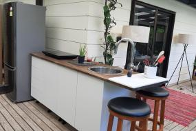 Queen Room with Sea View, Madhuban - Waterfront in Whangaroa